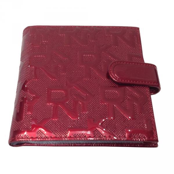 Визитница средняя DKNY 609-1 Цвет бордовый