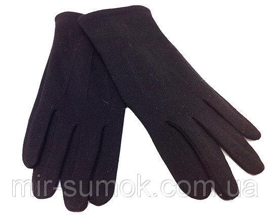 Мужские перчатки для сенсорного телефона Сюрприз Артикул P-0024 черные