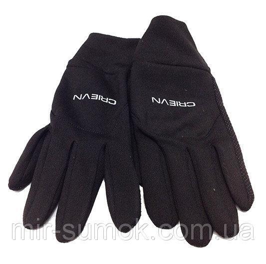Мужские термо-перчатки Зимушка прорезиненные  Артикул  P-05050 черные