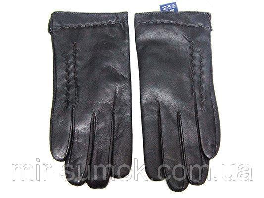 Мужские перчатки кожа Boxing Артикул Ю135-мех кролик №04