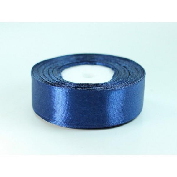 Фото Ленты, Лента атласная однотонная 2,5 см Атласная лента   2.5 см, цвет тёмно - синий
