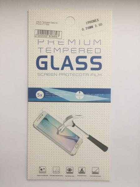 Защитное стекло для iPhone X 0.26 mm 2.5D