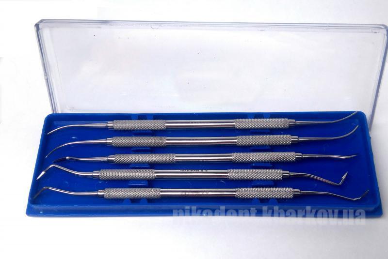 Фото Для зуботехнических лабораторий, АКСЕССУАРЫ, Инструменты Набор инструментов для работы с воском (Medident)