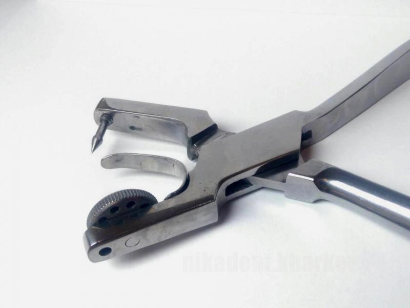 Фото Для стоматологических клиник, Инструменты Пробойник  для платков коффердама (Medident)