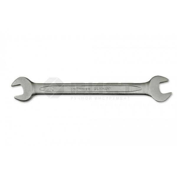 Ключ ріжковий двосторонній Cr-V, 17x19 мм Konner 48-062 | рожковый двусторонний