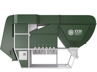 Сепаратор очистки зерна ИСМ-30 с ЦОК (циклонно-осадочной камерой)