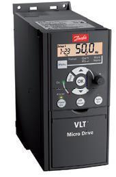 """Преобразователь частоты (частотник) ТМ """"Danfoss"""", VLT® Micro Drive,  0,75кВт (трехфазный), 132F0018"""
