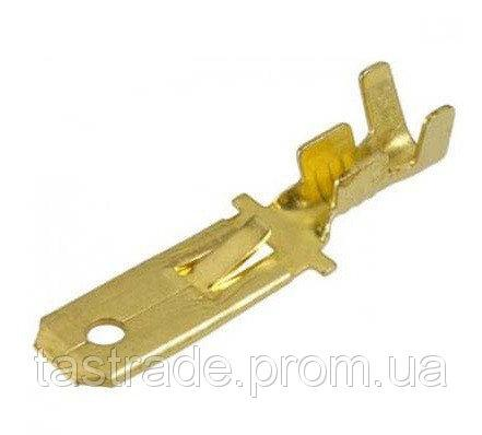 """Коннектор плоский разрезной без изоляции """"папа"""" DJ611 6,3B 17mm (1-1,5/6,3-0,5), 100 шт./уп."""