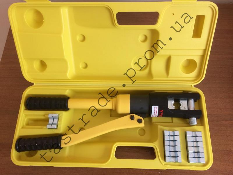 Опрессовочный инструмент для наконечников гидравлический YQK-300 (SC, DL, DTL, DT, JG, GL, GTY 10-300)