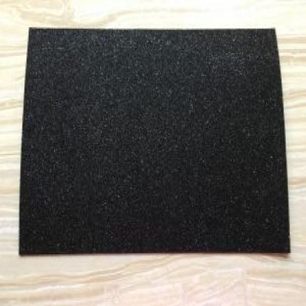 Фоамиран с глитером на клеевой основе 20х30 см ,цвет чёрный
