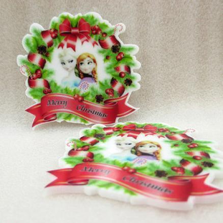 Фото Серединки ,кабашоны, Кабашоны детские мультики Серединка новогодняя Мери Кристмас 4 7мм с холодной леди
