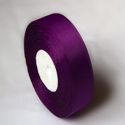 Фото Ленты, Лента репсовая  2 и 2.5 см Репсовая лента  2.5 см.  цвет  тёмно- фиолетовый