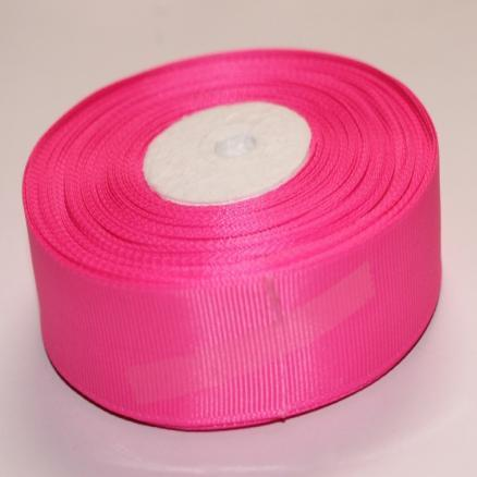 Фото Ленты, Лента репсовая  2 и 2.5 см Репсовая лента , ярко - розовая  2,5 см.
