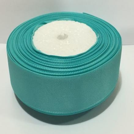 Лента репсовая 2,5 см , цвет мята