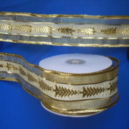 Фото Ленты,  Декоративные  тканевые  ленты . Лента  парчевая с нейлоном