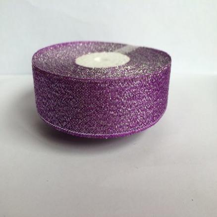 Фото Ленты, Лента парча 0.6мм-5см Лента  парча  2,5 см.  Фиолетовая .