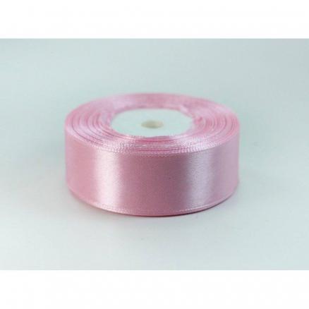Фото Ленты, Лента атласная однотонная 2,5 см Атласная лента 2,5 см , цвет розовый с сиреневой