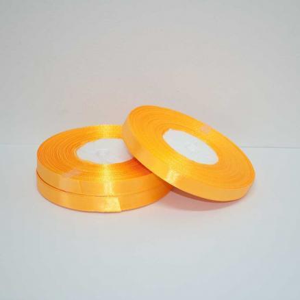 Фото Ленты, Лента атласная  однотонная 0,6-12мм Лента атласная 0,6 см.  цвет апельсиновый.   Бобина  23  метра.