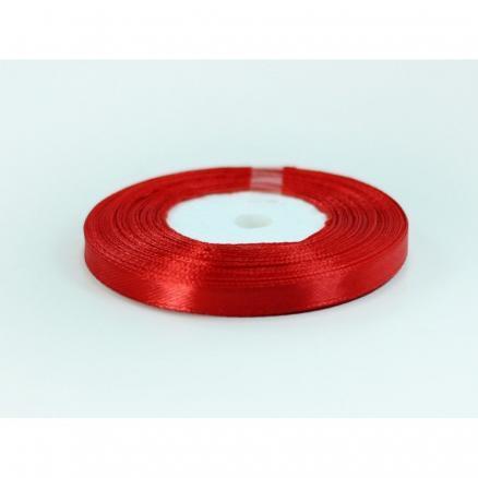 Фото Ленты, Лента атласная  однотонная 0,6-12мм Лента  атласная  0,6 см.  цвет красный.   Бобина  23 метра.