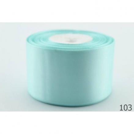 Фото Ленты, Лента атласная   однотонная ,5см Атласная лента   5 см , цвет светло-голубой.