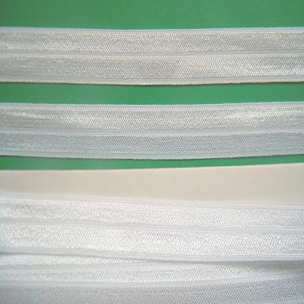 Фото Кружево ,тесьма ,сетка,резинка, Резинка для повязок, резинка простая. Бейка  эластичная . Белая 15 мм.  трикотажная