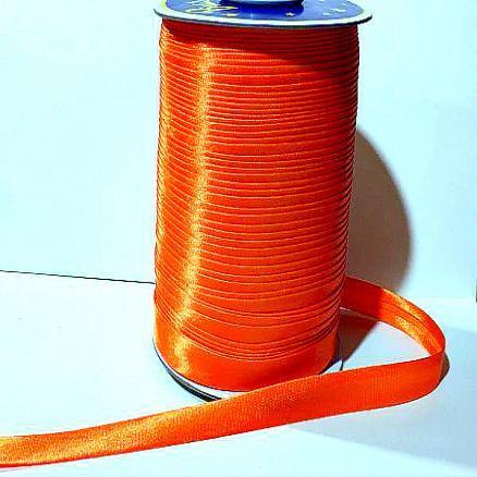 Косая бейка , цвет  Жёлто - оранжевый , ширина 1,5 см