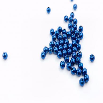 Фото Бусины ,полубусины ,стразы,.цветок.шина, тесьма пластик, Бусины  разные Бусина пластиковая 8 мм. Синего цвета.