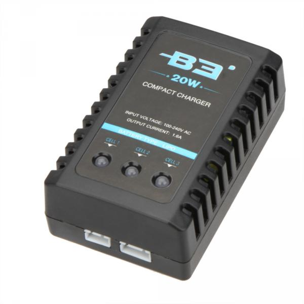 Зарядка IMax B3 со блоком питания. Для зарядки аккумуляторов - LiPo, Li-Ion, LiFe, 2-3S