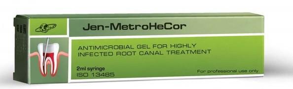 Jen-MetroHeCor (джен метро хи кор) антибактериальный гель, 2мл