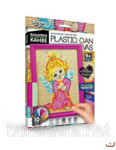 """Вышивка на пластиковой канве """"PLASTIC CANVAS: Ангелок"""""""