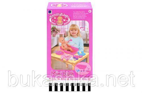 Ванночка для куклы с аксессуарами
