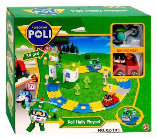"""Игровой набор-трек """"Robocar Poli"""""""