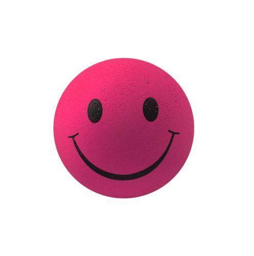 """Мяч попрыгун """"Смайл"""" розовый (6*6*6см)"""