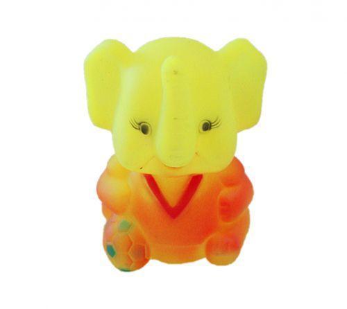 Пищалка для ванной Лягушка / Слон, 10 см