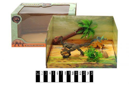 """Набор"""" Динозавр с ландшафтом"""""""