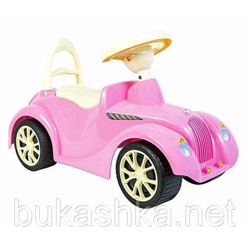 Каталка Ретро, розовая