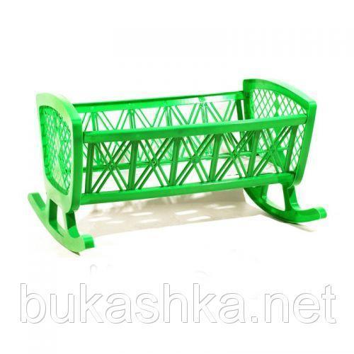 """Игрушка """"Кроватка"""", зеленая"""