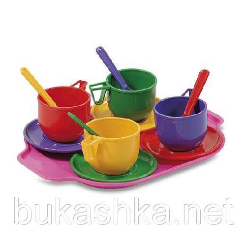 Набор посудки с подносом
