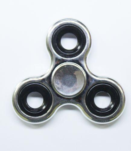 Спиннер (серебристый, металл)