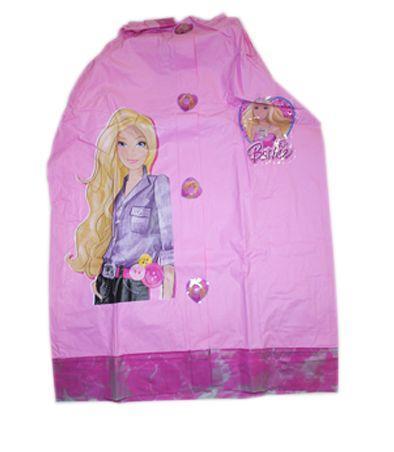 """Дождевик """"Барби"""" с капюшоном (L, XL)"""