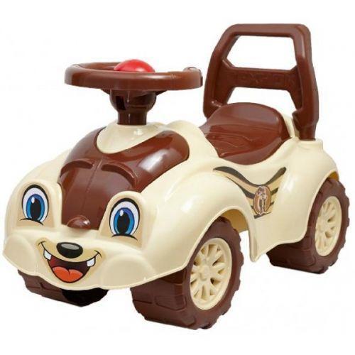 Машинка-каталка для прогулок (коричневая)