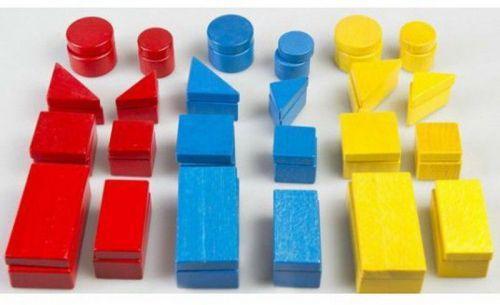 Конструктор разноцветный (48 деталей)