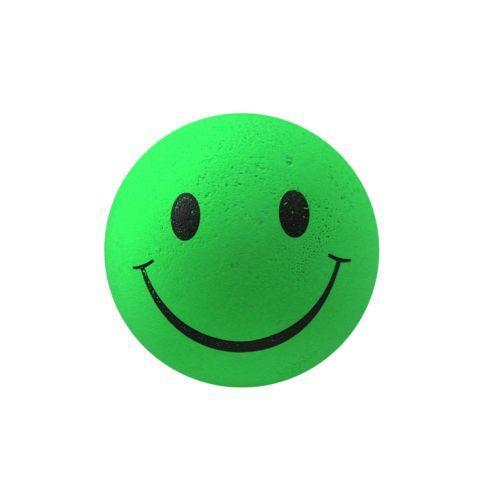 """Мяч попрыгун """"Смайл"""" зеленый (6*6*6см)"""