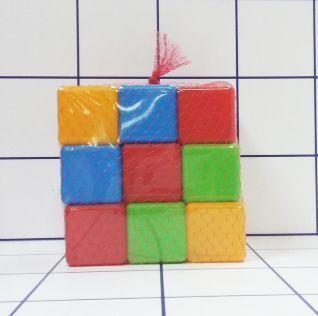 Кубики разноцветные (27 штук)