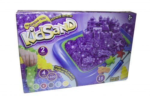 """Кинетичний песок """"KidSand"""" + песочница"""