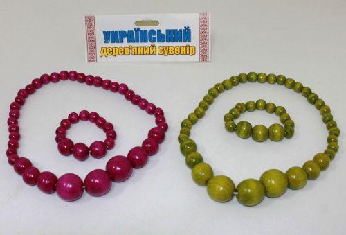 """Ожерелье """"Украиночка"""" + браслет"""