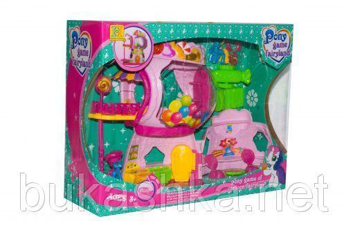 """Кукольный дом """"My Little Pony"""" с героями и мебелью"""