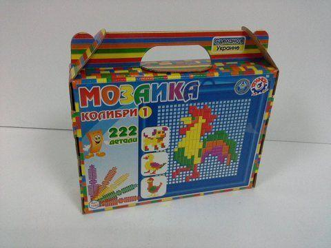 "Мозаика ""Колибри 1"" (222 детали)"