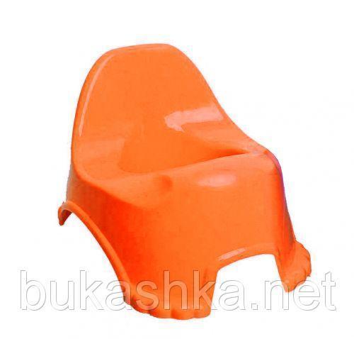 Горшок детский (оранжевый)