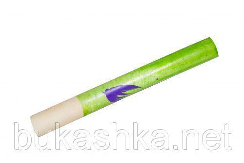 Сопилка с росписью (фиолетовая), 16 см